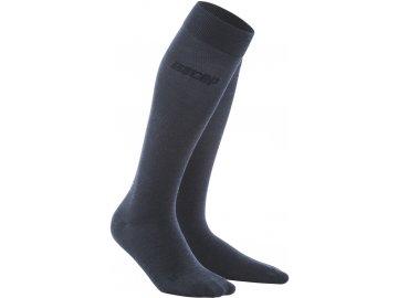 Allday Merino Compression Socks darkblue WP40Y6 WP50Y6 front 2