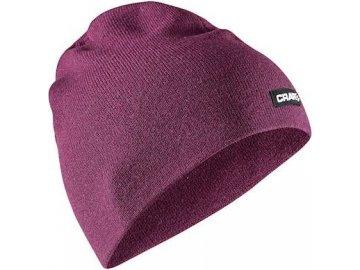 cepice craft solid knit fialova 1