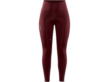 w kalhoty craft adv essence high waist cervena 4
