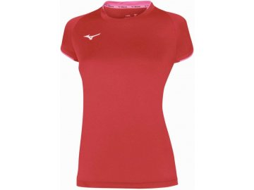 core short sleeve tee red pink fluo