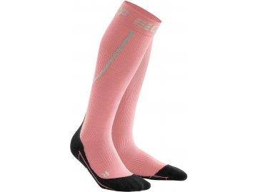 Winter Run Socks rose black WP401U w front 2