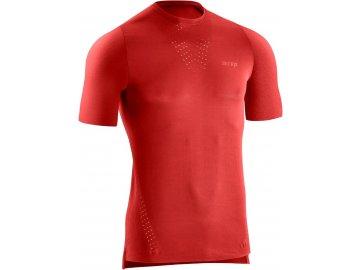 Run Ultralight Shirt SS lava W114J5 m front