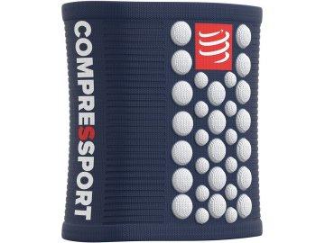 sweatbands 3d dots v2 blue white