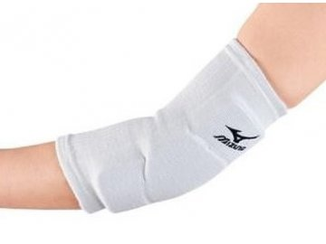 team f elbow support white black one size