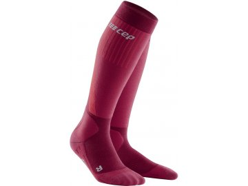 Cold Weather Socks red