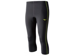 3/4 běžecké kalhoty Mizuno Core Tights J2GB504294 (Velikost textilu XL)