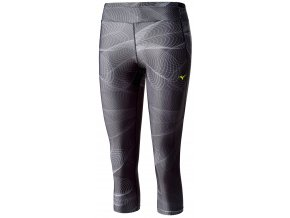 3/4 běžecké kalhoty Mizuno Lotus Tights J2GB621209 (Velikost textilu XS)