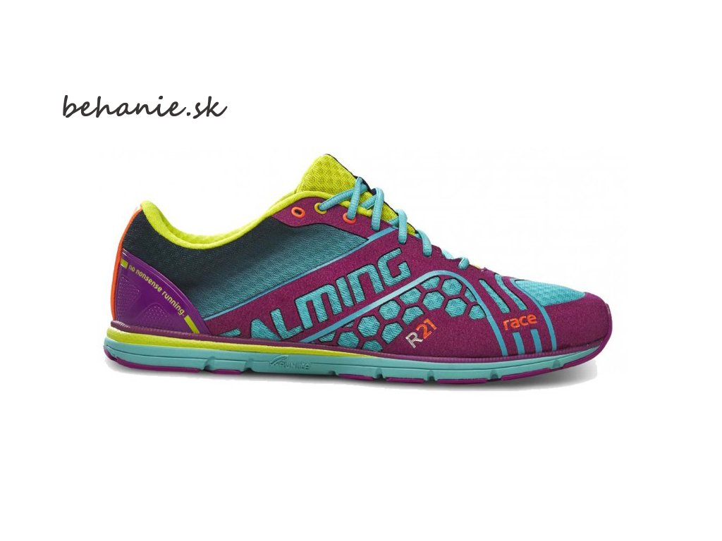 Bežecká obuv Salming Race 3 Shoe Women Turquoise/Purple