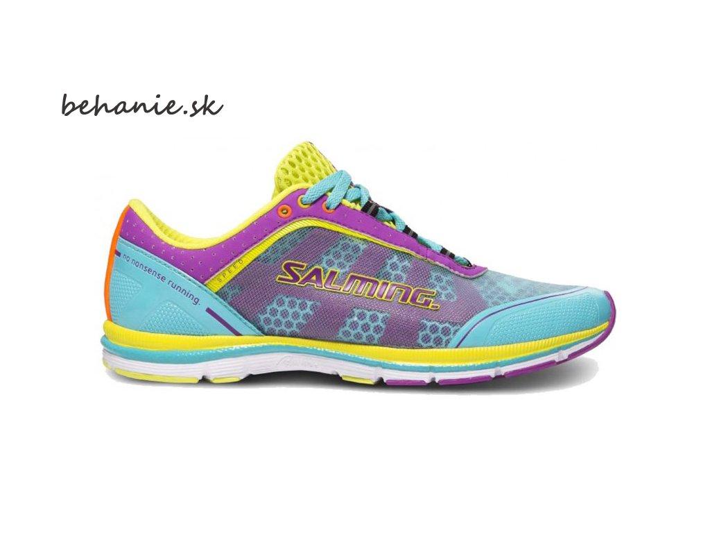 Bežecká obuv Salming Speed 3 Shoe Women Turquoise/Purple
