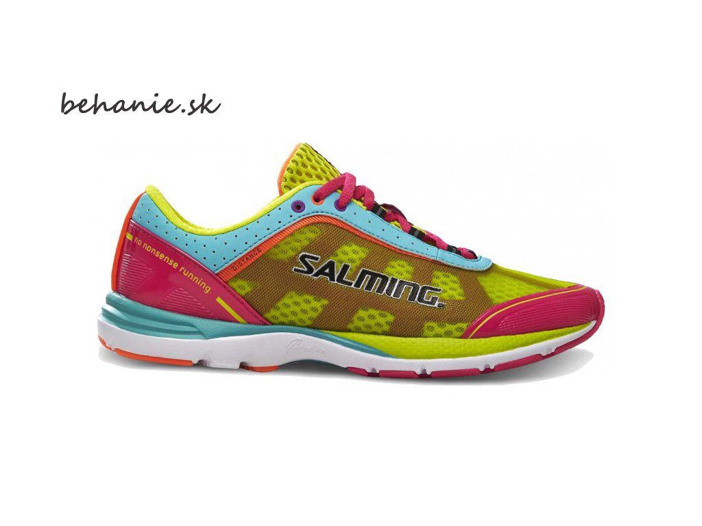 Bežecká obuv Salming Distance 3 Shoe Women Pink/Turquoise