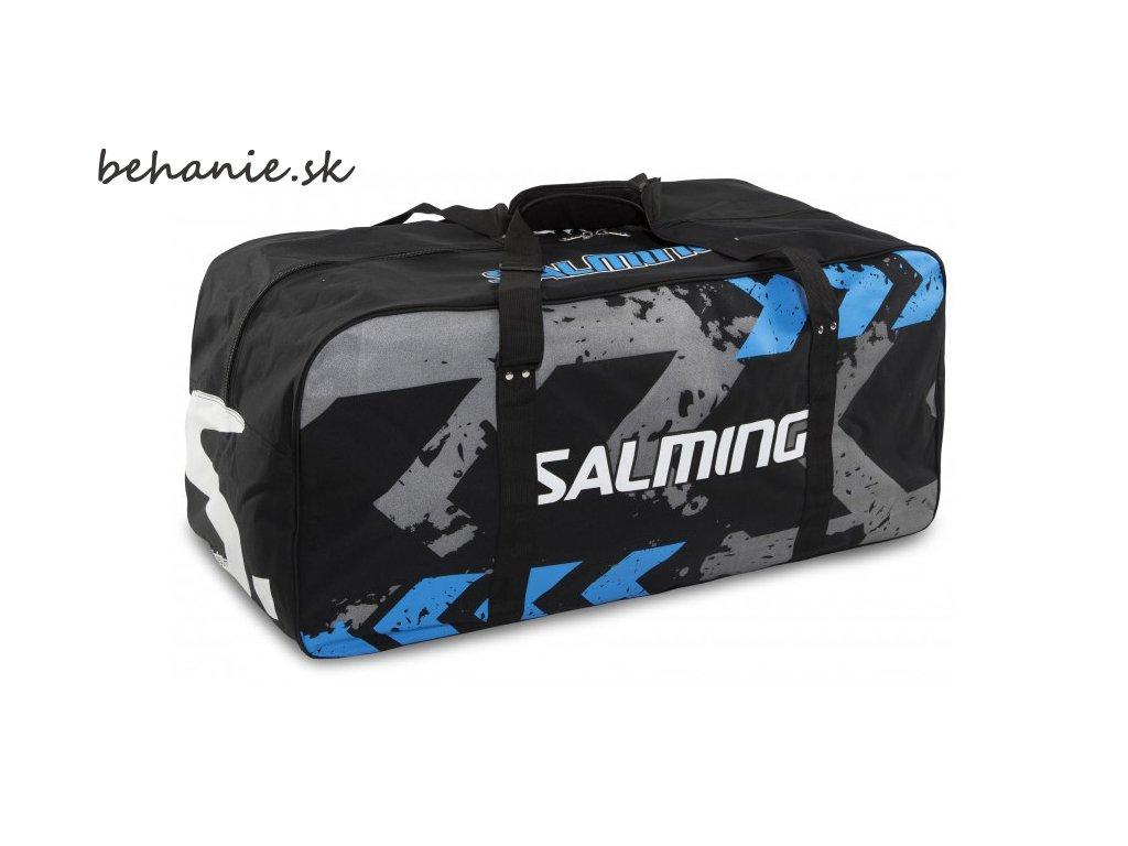 Sportovní taška SALMING Wheelbag MTRX, Goalie, 400L, Black