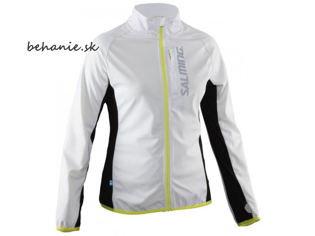 Bežecká bunda SALMING Running Jacket Women White