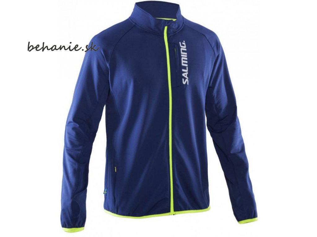 Bežecká bunda SALMING Run Thermal Jacket Men Navy