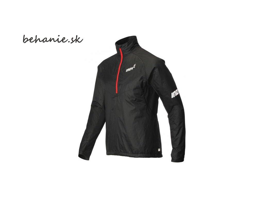 Bežecká bunda INOV-8 AT/C THERMOSHELL HZ black/red (Veľkosť L)