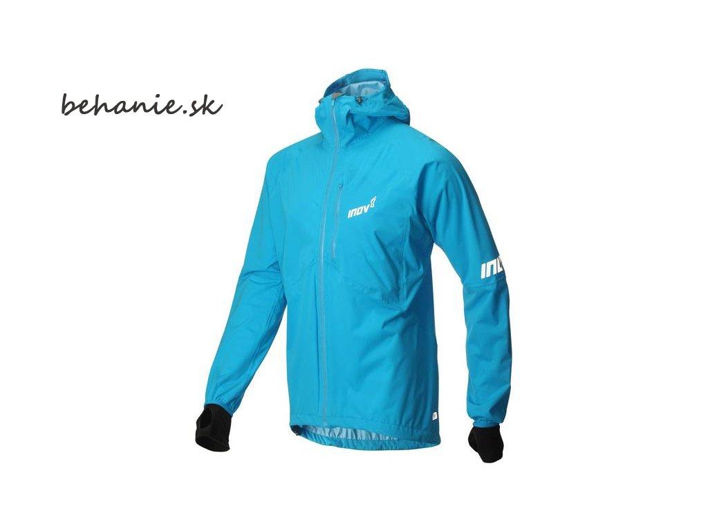 Bežecká bunda Inov-8 AT/C RACESHELLl FZ blue (Veľkosť L)