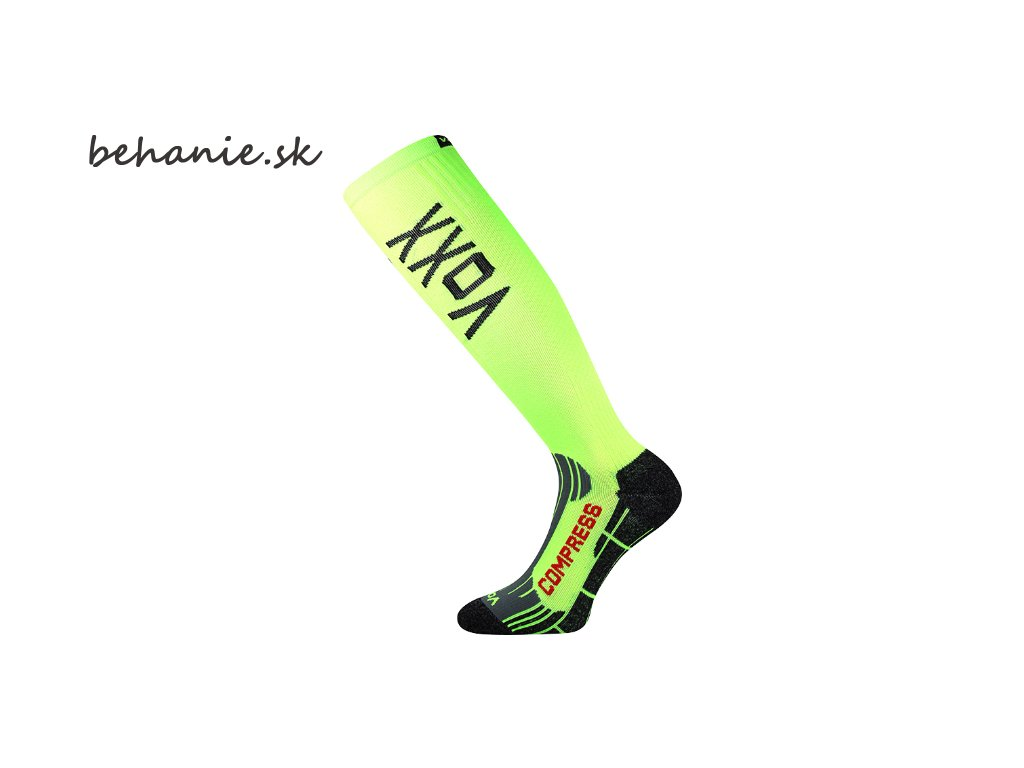 Bežecké kompresné podkolienky Boma FLEX - zelené