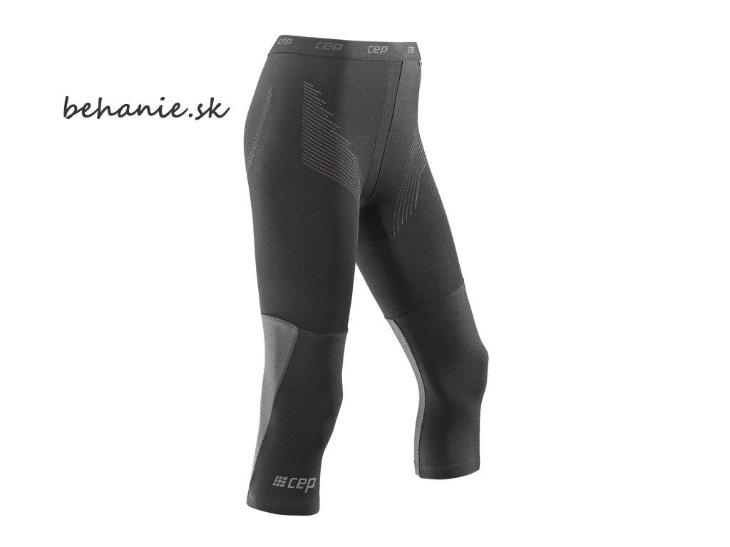 CEP dámské 3/4 běžecké kompresní kalhoty BASE (Velikost V (60-65 cm obvod stehna v polovině))
