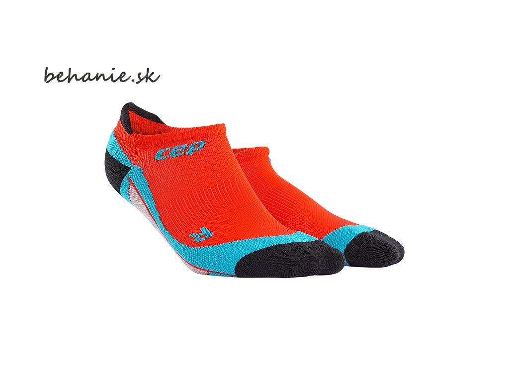 no show socks sunset hawaii blue m WP56S pair