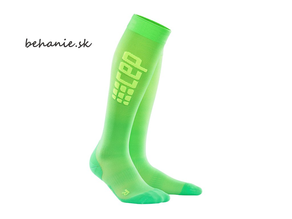 run ultralight socks viper green WP55GC pair