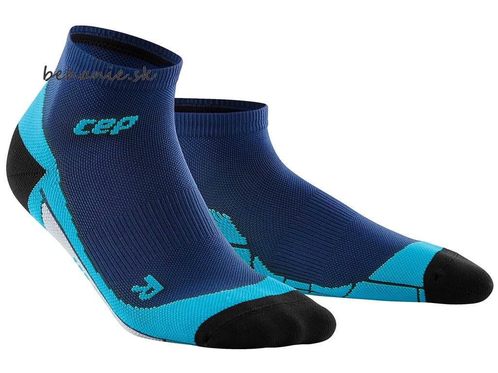 CEP low Cut Socks deep ocean hawaii blue WP4AB0 w WP5AB0 m pair