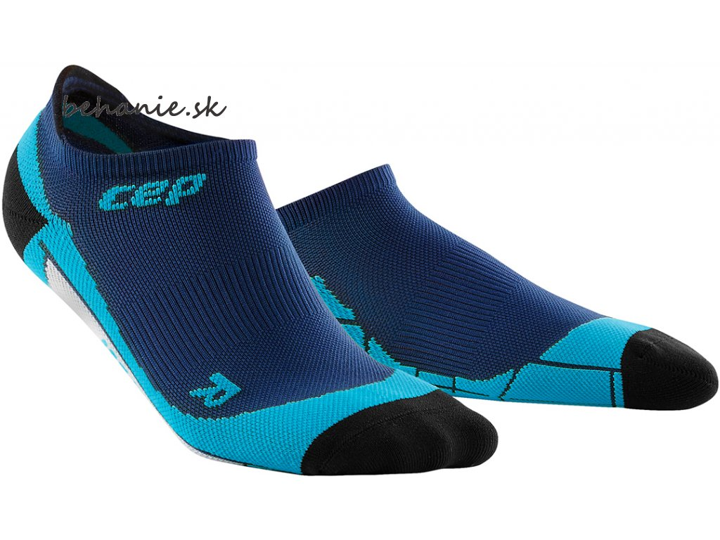CEP no Show Socks deep ocean hawaii blue WP46B0 w WP56B0 m pair