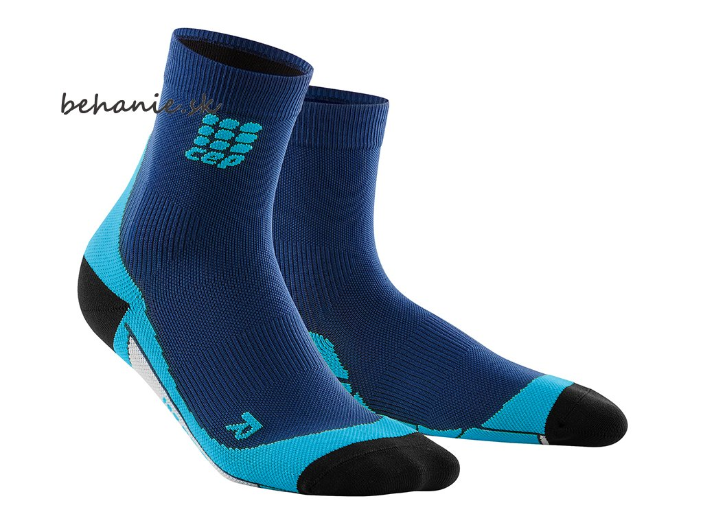 CEP short Socks deep ocean hawaii blue WP4BB0 w WP5BB0 m pair