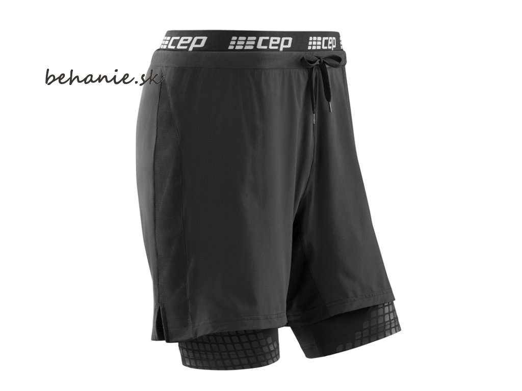CEP Performance 2in1 Shorts black W8815B m front