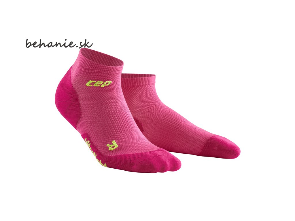 Ultralight Low Cut socks electric pink WP4APD w pair