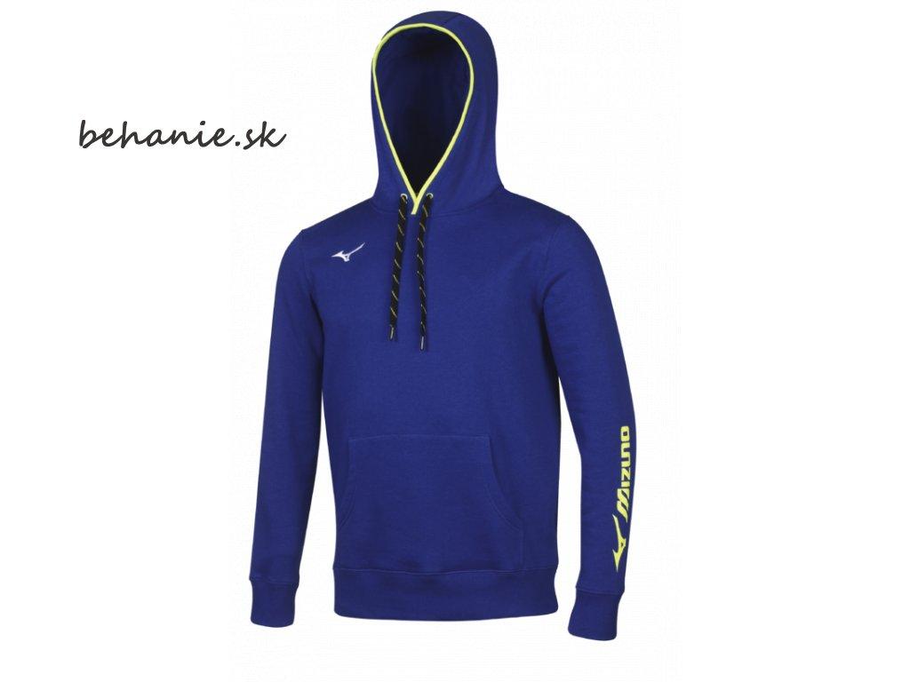 Běžecká mikina Mizuno Sweat Hoodie 32EC700822 (Veľkosť XXL)