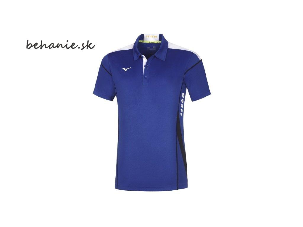 Běžecké tričko Mizuno Hex Rect Polo 62EA700122 (Veľkosť XXL)