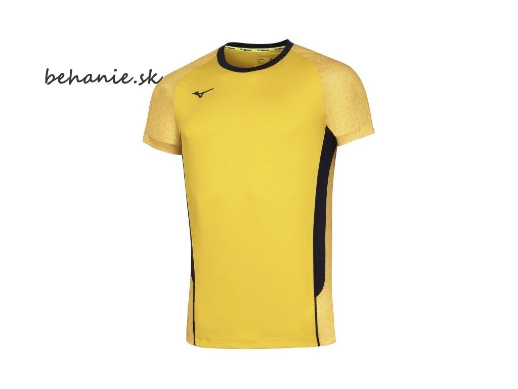 Volejbalový dres Mizuno Premium High-Kyu Tee V2EA700245 (Veľkosť XXL)