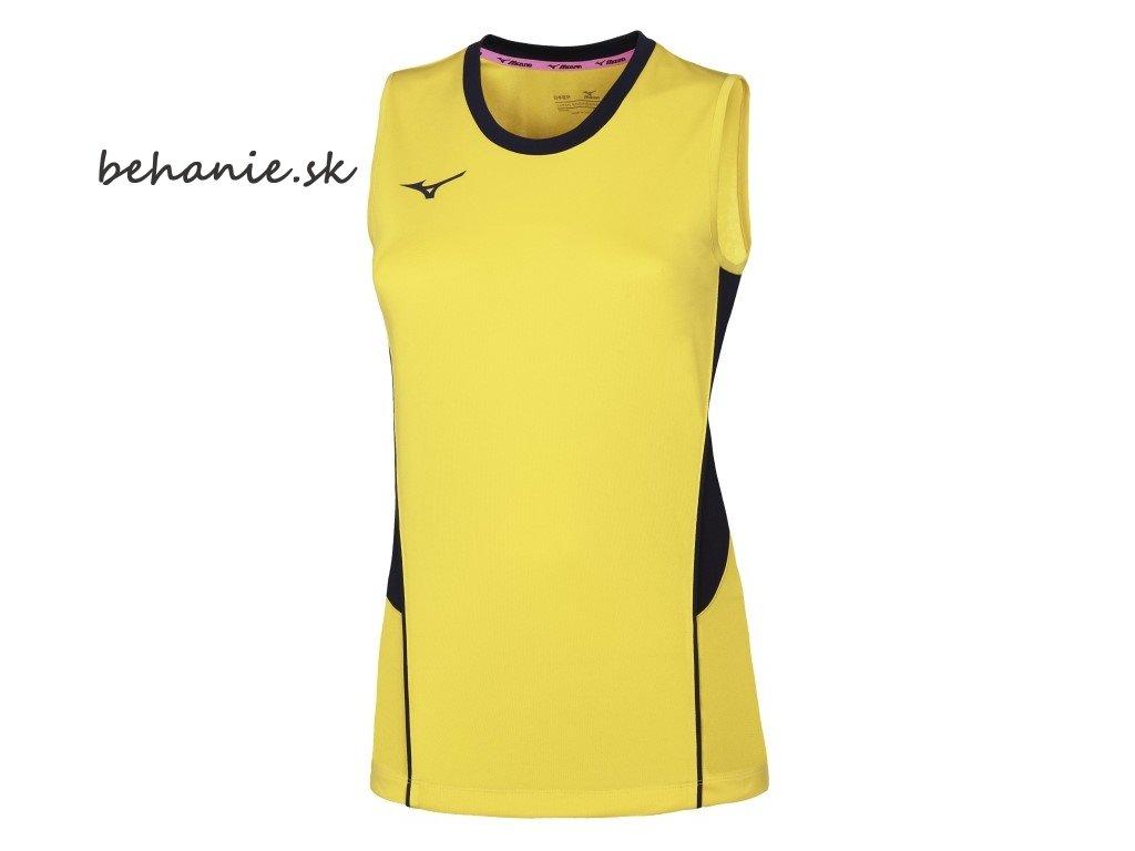 Volejbalový dres Mizuno Authentic High-Kyu NS Shirt V2EA720145 (Veľkosť XS)