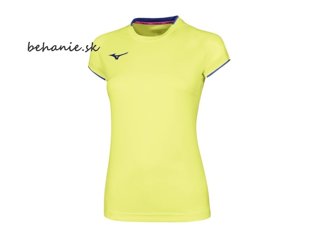 core short sleeve tee yellow fluo royal 1