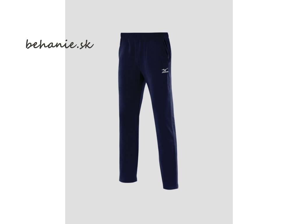 Běžecké dlouhé kalhoty Mizuno Sweat Pant Navy 32ED7210L14 (Veľkosť XL)