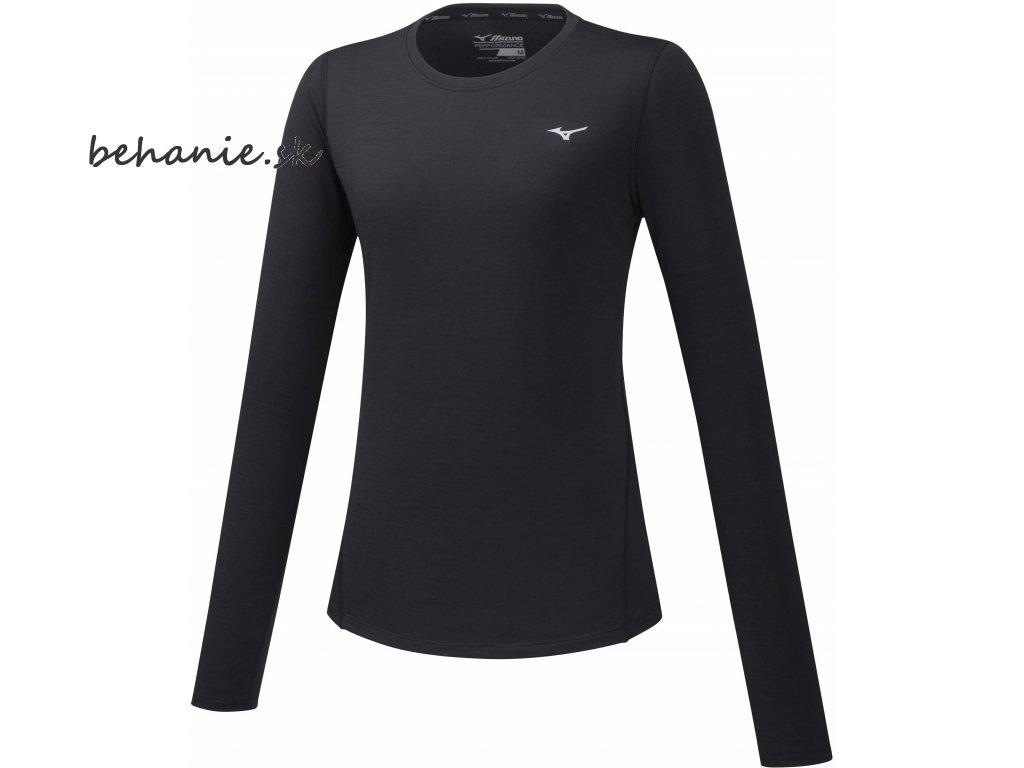 Běžecké tričko Mizuno Impulse Core LS Tee J2GA772209 (Veľkosť XS)