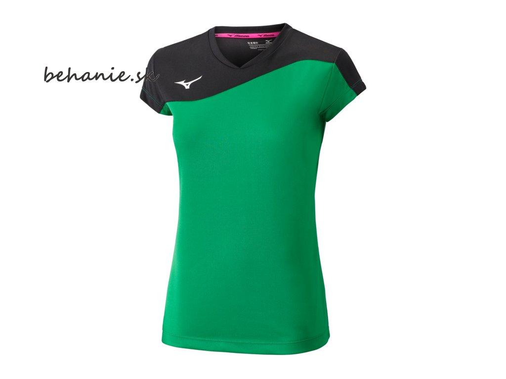 Volejbalový dres Mizuno Premium Myou Tee V2EA720335 (Veľkosť XXS)