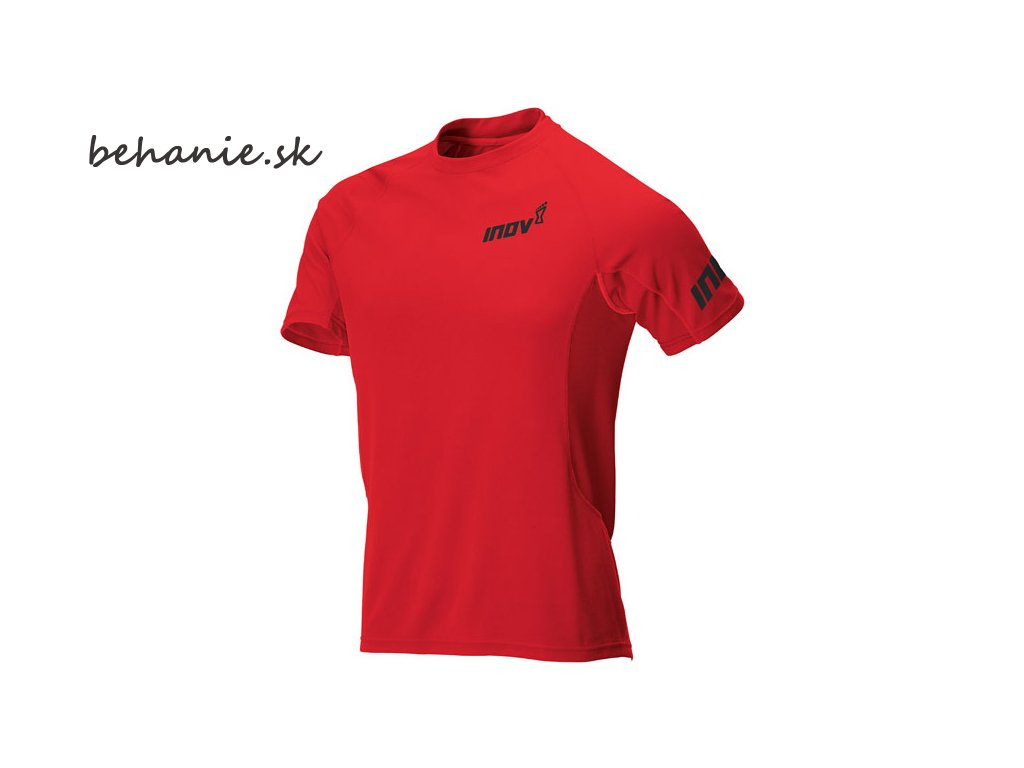 Běžecké tričko INOV-8 BASE ELITE SS red (Velikost textilu XL)