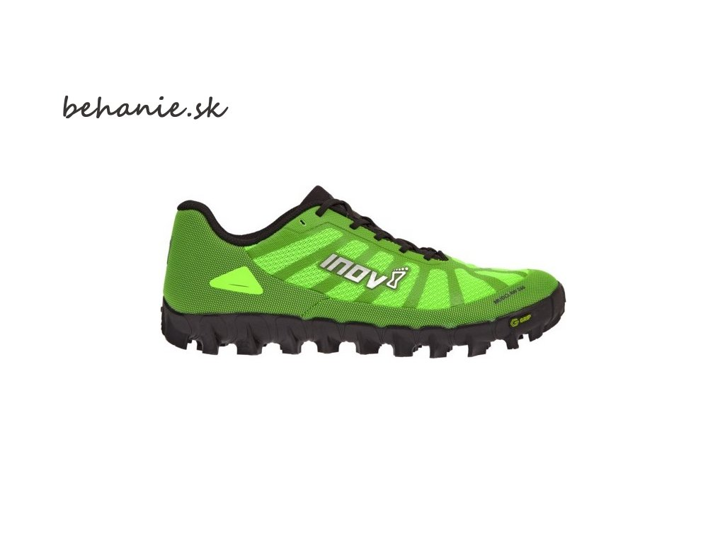inov 8 mudclaw g 260 uni p greenblack zelena s cernou 3