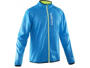 Bežecká bunda SALMING Run Ultralite Jacket Men Cyan Blue 410ea430b80