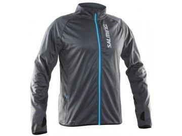 Bežecká bunda SALMING Running Jacket Men Grey