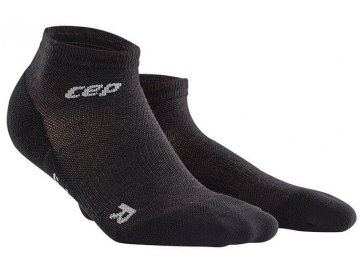 CEP pánské outdoorové kompresní kotníkové ponožky ULTRALIGHT MERINO - lava  stone (Velikost V (45 9c11caa3af0