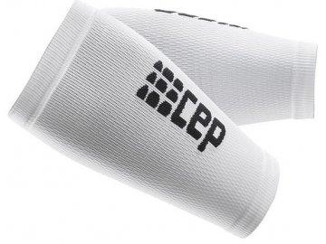 CEP unisexové kompresné návleky na předloktí - biela / čierna (Veľkosť IV (29-31 cm obvod předloktí))