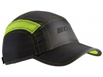 CEP brand collection run cap black limegreen uni WZ16U4
