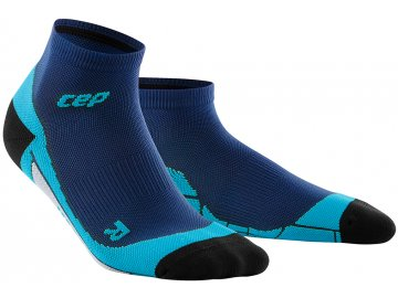 CEP low Cut Socks deep ocean hawaii blue WP4AB0 w WP5AB0 m pair