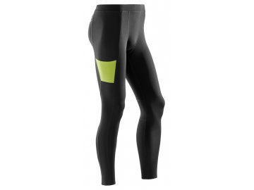CEP Performance Tights black lime W789UC m front