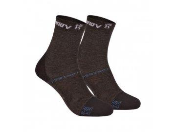 Běžecké ponožky Inov-8 MERINO LITE SOCK  - dva páry (Velikost textilu S)