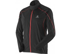Bežecká bunda Salomon S-LAB LIGHT JKT M BLACK L36371600