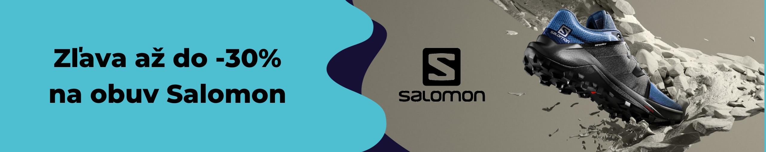Výpredaj obuvi značky Salomon na Belda.sk