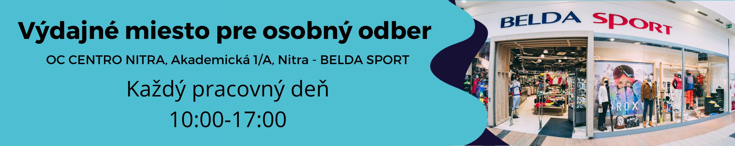 výdajné miesto Belda Sport