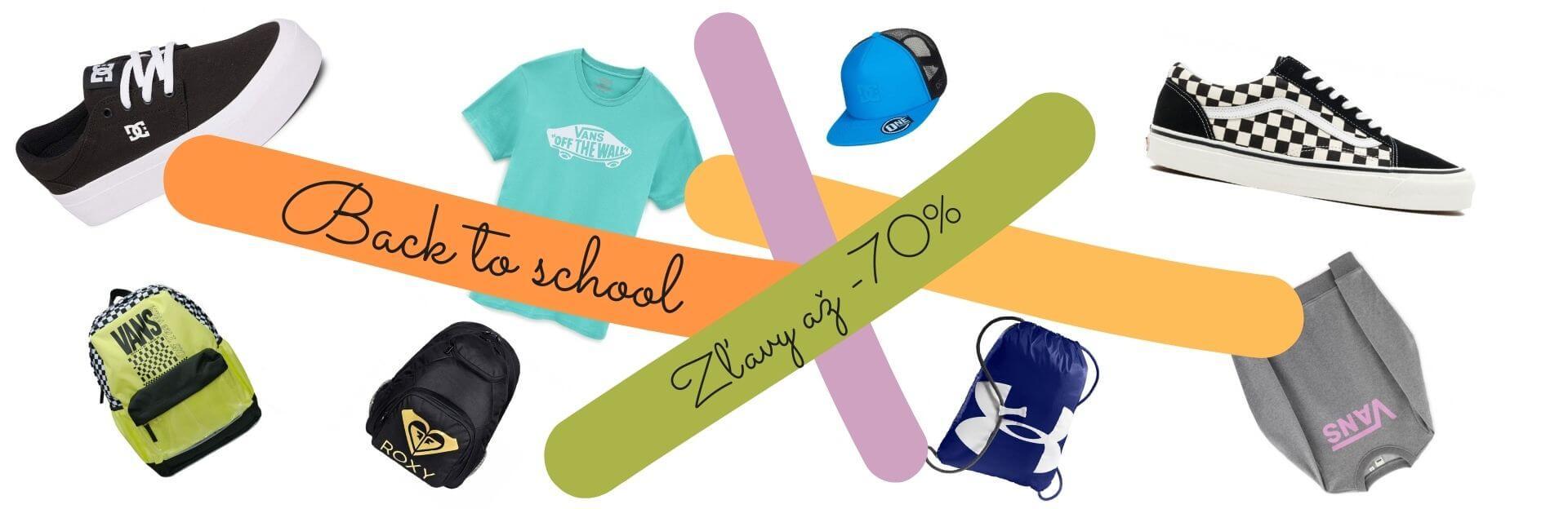 Back to school zľavy na oblečenie a obuv až 70% | Belda.sk